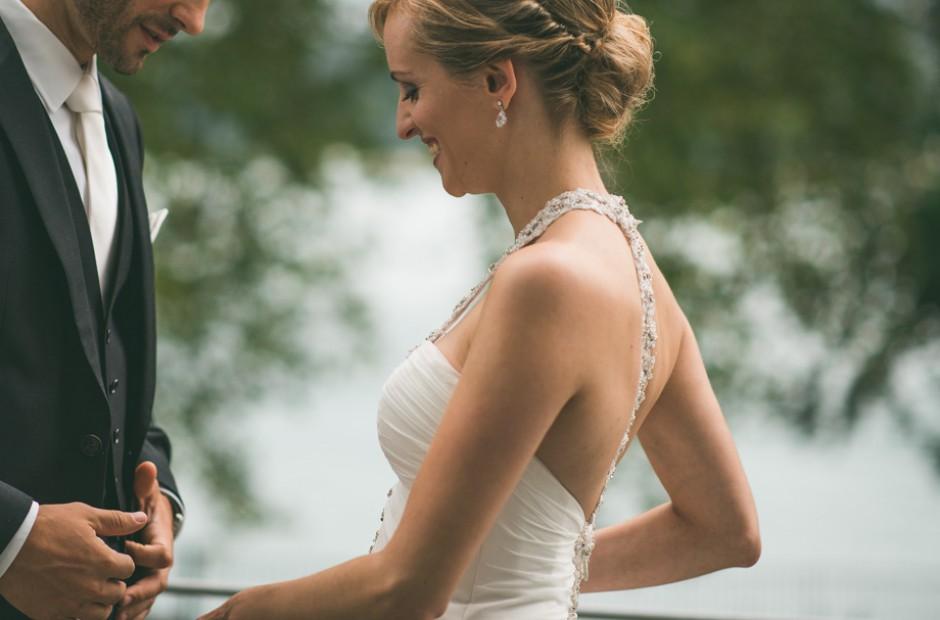 Schöne Glückliche Braut Und Bräutigam – Hochzeitsfotograf Mosbach