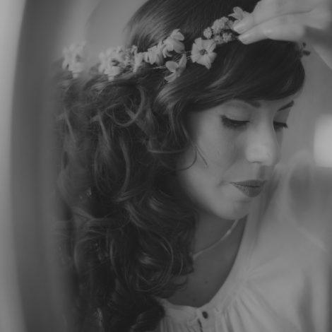 Braut im Spiegel. Hochzeitsfotograf Mosbach